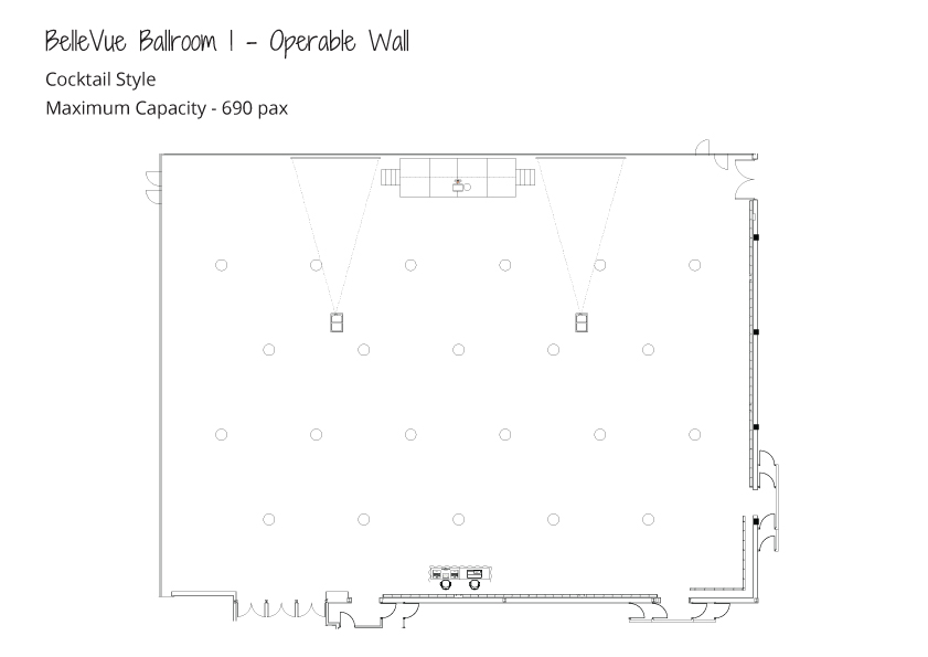 Level-3-Ballrooms---Maximum-Capacity---Cocktail-Style---Ballroom-1-Operable-Wall
