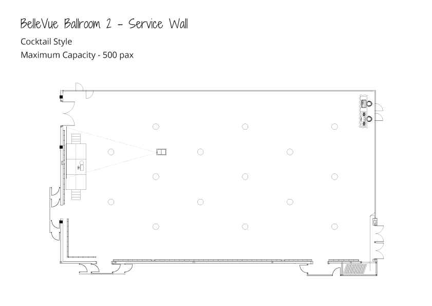 Level-3-Ballrooms---Maximum-Capacity---Cocktail-Style---Ballroom-2-Service-Wall